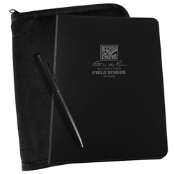 "Rite in the Rain 7200B-Kit All-Weather 1/2"" Field Binder Universal Kit, Black"