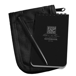 RITR 735B-Kit All-Weather Universal Spiral Notebook Kit, Black