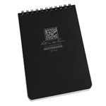RITR 746 All-Weather Universal Spiral Notebook, Black