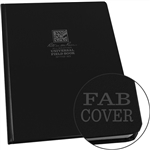 "Rite in the Rain 770F-MX All-Weather Fabrikoid Universal Field Book, Black, 8.5"" x 11"""
