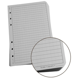 "Rite in the Rain 772 All-Weather Universal Loose Leaf, Gray, 4 5/8"" x 7"""