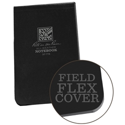 Rite in the Rain 778 All-Weather Universal Memo Book, Black