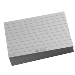 Rite in the Rain 791 All-Weather Index Cards, Gray