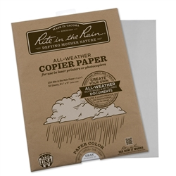 Rite in the Rain 8511GY-50 All-Weather Copier Paper, Gray
