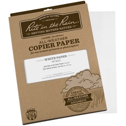 Rite in the Rain 8512 All-Weather Copier Paper, White, A4