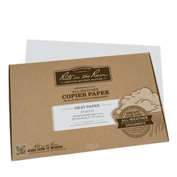Rite in the Rain 8517GY All-Weather Copier Paper, Gray