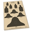 "Rite in the Rain 9127 All-Weather 25 Meter Targets, 17"" x 22"""