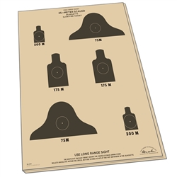 "Rite in the Rain 9128 All-Weather 25 Meter Targets, 17"" x 22"" - 100 Sheets"