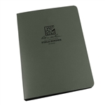 "RITR 9200 All-Weather 1/2"" Capacity Field Ring Binder, Green"