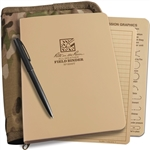 Rite in the Rain 9200M-Kit All-Weather Field Binder Kit, Tan/MultiCam