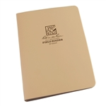 "Rite in the Rain 9200T All-Weather 1/2"" Capacity Field Ring Binder, Tan"