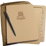 Rite in the Rain 9200T-Kit All-Weather Field Binder Kit, Tan