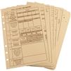 RITR 9200T-R All-Weather Tactical Reference Cards, Tan