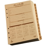 Rite in the Rain 9260D All-Weather Daily Calendar Pages, Tan