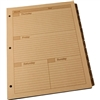 "Rite in the Rain 9260W-MX All-Weather Weekly Tab Set, Tan, 8.5"" x 11"""