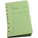 "Rite in the Rain 932 All-Weather Warning Order Loose Leaf, Green, 4 5/8"" x 7"""