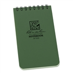 RITR 935 All-Weather Universal Spiral Notebook, Green