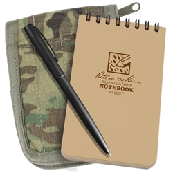 Rite in the Rain 935M-Kit All-Weather Universal Spiral Notebook Kit, Tan/MultiCam