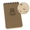 RITR 935T All-Weather Universal Spiral Notebook, Tan