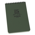 "Rite in the Rain 946 All-Weather Universal Notebook, Green, 4"" x 6"""