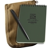 "Rite in the Rain 946-Kit All-Weather Universal Notebook Kit, Green/Tan, 4"" x 6"""
