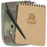 Rite in the Rain 946M-Kit All-Weather Universal Spiral Notebook Kit, Tan/MultiCam