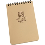 RITR 946T All-Weather Universal Spiral Notebook, Tan