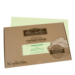 Rite in the Rain 9517 All-Weather Copier Paper, Green