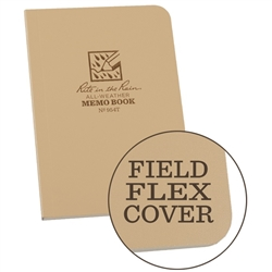 "Rite in the Rain 954T All-Weather Universal Field-Flex Memo Book, Tan, 3.5"" x 5"""