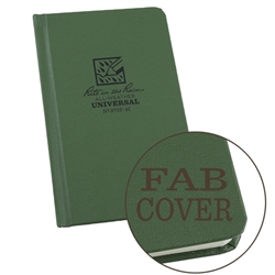 Rite in the Rain 970F-M All-Weather Fabrikoid Universal Pocket Book, Green