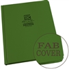 "Rite in the Rain 970F-MX All-Weather Fabrikoid Universal Book, Green, 8.5"" x 11"""