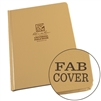 "Rite in the Rain 970TF-LG All-Weather Fabrikoid Universal Book, Tan, 6"" x 8"""