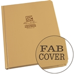 "Rite in the Rain 970TF-MX All-Weather Fabrikoid Universal Book, Tan, 8.5"" x 11"""