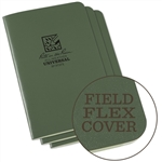 Rite in the Rain 971FX All-Weather Universal Stapled Notebooks, Green