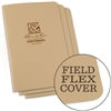 Rite in the Rain 971TFX All-Weather Universal Stapled Notebooks, Tan