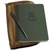 Rite in the Rain 973-Kit All-Weather Universal Notebook Kit, Green/Tan