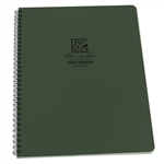 Rite in the Rain 973-MX All-Weather Universal Spiral Notebook, Green