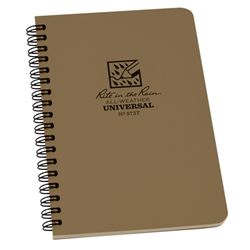 Rite in the Rain 973T All-Weather Universal Spiral Notebook, Tan