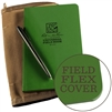Rite in the Rain 974-Kit All-Weather Universal Bound Book Kit, Green/Tan