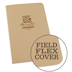 Rite in the Rain 974T All-Weather Universal Field-Flex Book, Tan