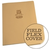 "Rite in the Rain 974T-MX All-Weather Maxi Universal Field-Flex Book, Tan, 8.5"" x 11"""