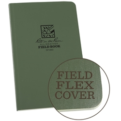 "Rite in the Rain 980 All-Weather Universal Field-Flex Book, Green, 4 5/8"" x 7 1/4"""