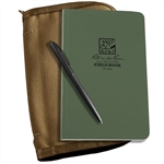Rite in the Rain 980-Kit All-Weather Universal Bound Book Kit, Green/Tan