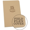 "Rite in the Rain 980T All-Weather Universal Field-Flex Book, Tan, 4 5/8"" x 7 1/4"""