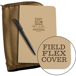 Rite in the Rain 980T-Kit All-Weather Universal Field-Flex Book Kit, Tan