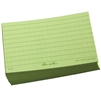 "Rite in the Rain 991 All-Weather Index Cards, Green, 3"" x 5"" - 100 Cards"