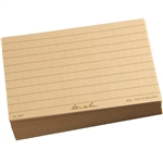 "Rite in the Rain 991T All-Weather Index Cards, Tan, 3"" x 5"" - 100 Cards"