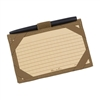 RITR 991T-Kit All-Weather Index Card Wallet Kit, Tan