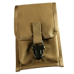 RITR C540F All-Weather Cordura Belt Clip Notebook Pouch, Tan