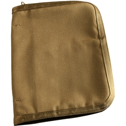 "RITR C9200 All-Weather Cordura 1/2"" Binder Cover, Tan"